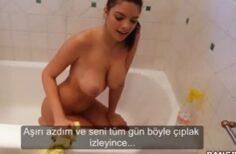 Güzel hizmetçisine para verip sikti, Türkçe Altyazılı Porno