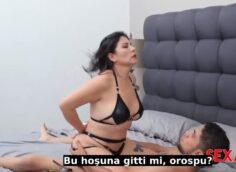 Orospu Anne Oğlunun Seks Kölesi Olup Olgun Amını Siktirdi Sexmex Part 1