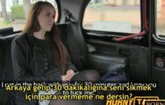 Fake Taksi Genç Kadına Para Teklif Ederek Sikiyor – Altyazılı Porno